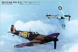 Aviation: MK-9 Spitfire Poster 36x24