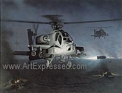 Army Helicopters: Hellstorm AH-64 Small