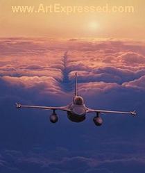 Aviation: High Flight F-16 Falcon Small