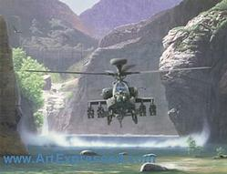 Army Helicopters: Redemption Apache Small