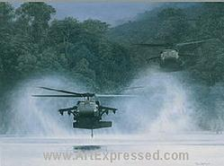Army Helicopters: The River Hawks Small