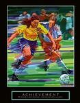 Achievement Soccer Poster 22x28