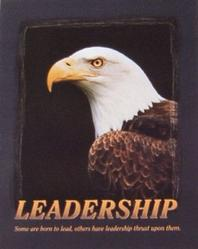 Bald Eagle Leadership Poster 16x20