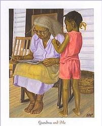 Grandma and Me Poster
