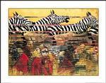 Nairobi Nocturne Art Print