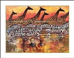 Serengeti Serenade Art Print