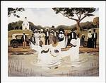 Outdoor Baptism Art Print