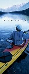 Kayaker Explore Poster