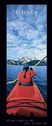 Goals Kayaker Poster 12x36