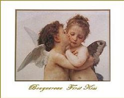 Bougereau First Kiss Poster
