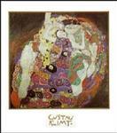 Gustav Klimt Die Jugrau Poster