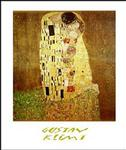 Gustav Klimt The Kiss Poster