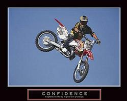 Biker Confidence 20x16 Poster
