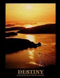 Sunrise Destiny Poster 16x20