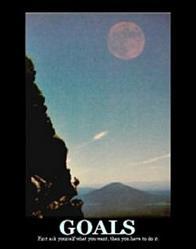 Moonrise Goals Poster 16x20