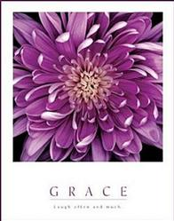 Purple Mum Grace Poster 16x20