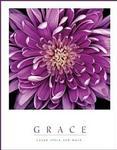 Purple Mum Grace Poster 16x20