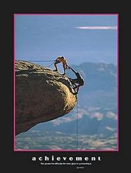 Climbers Achievement Poster 16x20