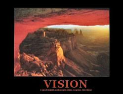 Canyon Vision Poster 20x16