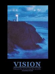 Lighthouse Vision Poster 16x20