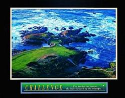 Golf Challenge Poster 10x8