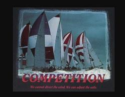 Sailboats Competition Poster 10x8