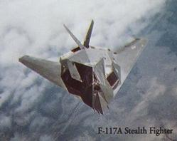 F-117A Stealth Aircraft Poster 10x8