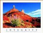Golden Valley Integrity Poster 10x8