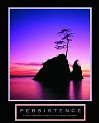 Sunset Persistence Poster 8x10