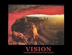 Canyon Vision Poster 10x8