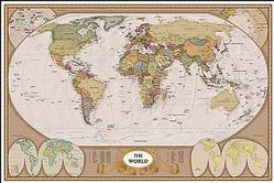 Geography: Map of the World Poster
