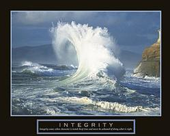 Integrity Wave Poster 28x22