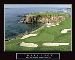 Challenge Golf Poster 3 28x22