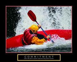 Commitment Kayak, P3 Black Frame with Linen Liner