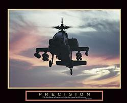 "Precision Helicopter, Cherry 1½"" Frame"