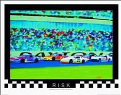 "Risk Auto Racing, Black 1½"" Frame"