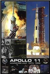 Astronomy: NASA Apollo 1969 - 24x36
