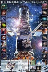 Astronomy: Hubble Telescope 24x36