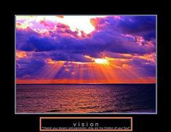 Vision Sunrise Poster 28x22