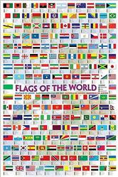 Geography: Flags of the World Poster