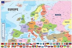 Geography: Modern Map of Europe