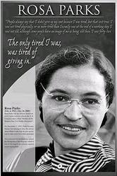 History: Rosa Parks 24x36