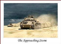 Army Tank: The Approaching Storm