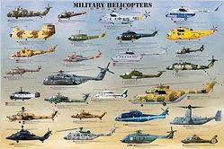 Army Helicopters: Military Helicopters Poster
