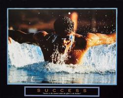 Success Swimmer