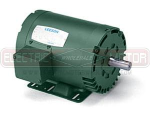 1HP LEESON 1760RPM 143T DP 3PH WATTSAVER MOTOR 121003.00