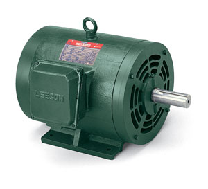 10HP LEESON 1185RPM 256T DP 3PH WATTSAVER MOTOR 170146.60