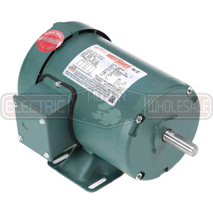 3/4HP LEESON 1725RPM 56 TEFC 3PH WATTSAVER MOTOR 116739.00