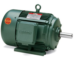 5HP LEESON 1180RPM 215T TEFC 3PH WATTSAVER MOTOR 171379.60