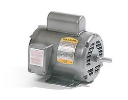 1HP BALDOR 3450RPM 56 OPEN 1PH MOTOR L1309A